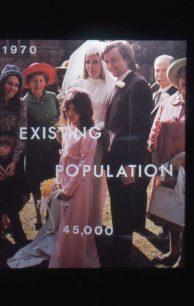 Information slide - population 1970