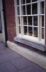 Cowley's bakery shop window