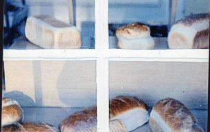 Bread in Cowley's Bakery shop