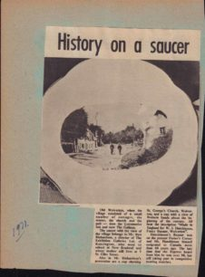 History on a saucer