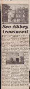 See Abbey Treasures!