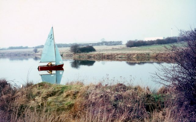 Mt Farm Lake, near Bletcham Way as now