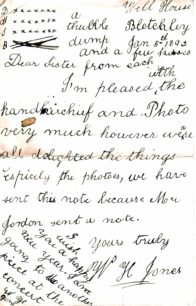 Well House Letters 1892