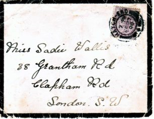 Well House Letters 1900