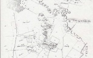 Two maps of The Mannor Of Stanton