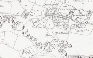 The upper map of The Mannor Of Stanton