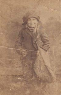 Postcard of paperboy Joe Chamberlain