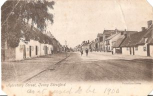 Aylesbury Street, Fenny Stratford - with cyclists