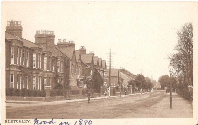 Bletchley Road, 1890