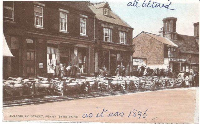 Aylesbury Street, Fenny Stratford - sheep market