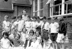 Class 1 in the old school - 1960