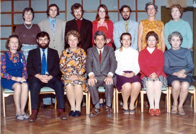 Staff photograph - 1968-69