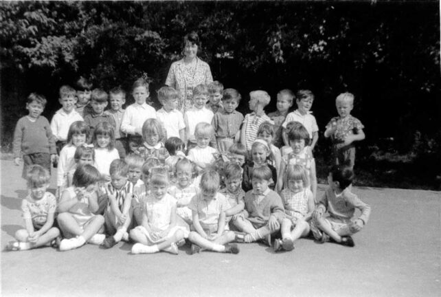 Class photograph - late 1960s