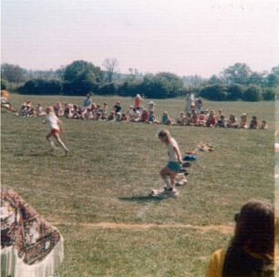 Sports Day, 2 runners - 1975