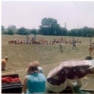 Sports Day, 3 runners - 1975