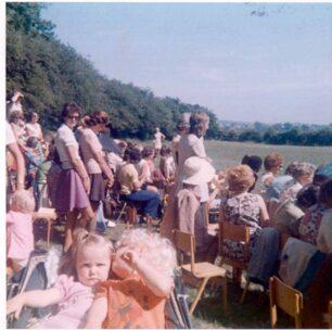 Sports Day, spectators - 1975