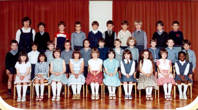 Class photograph - possibly 1991