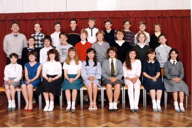 Class photograph - 1986
