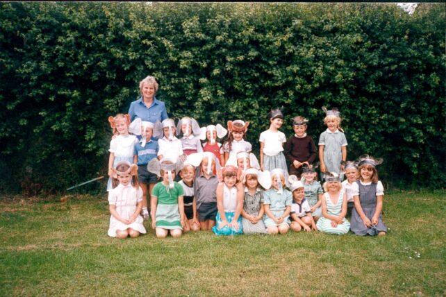 Class photograph - 1985