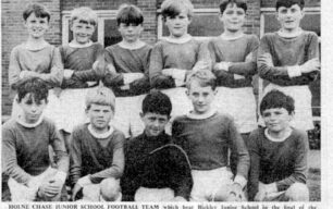 Junior School football team - 1967