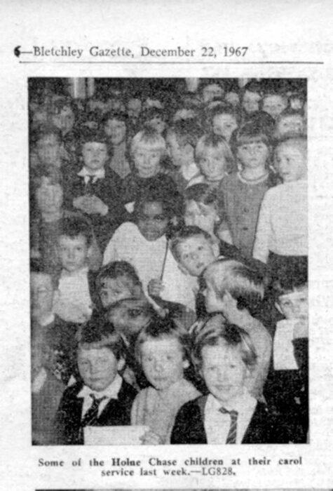 Carol Service - 1967