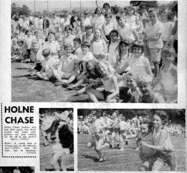 Sports Day - possibly 1967