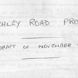 Bletchley Road Project booklet