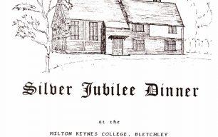 BAHS Silver Jubilee Dinner