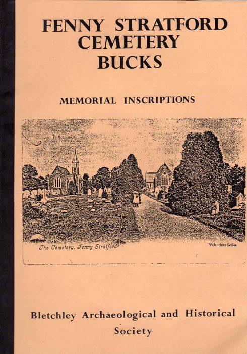 Memorial inscriptions in Fenny Stratford Cemetery