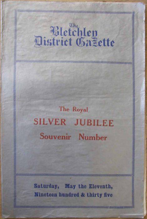 Bletchley District Gazette Souvenir edition, 1935