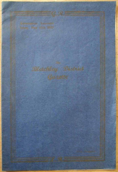 Bletchley District Gazette Souvenir edition, 1937