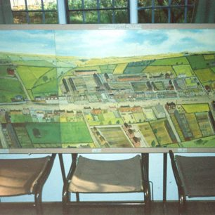 Painting of Bletchley Road