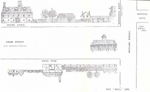 Cross Street map