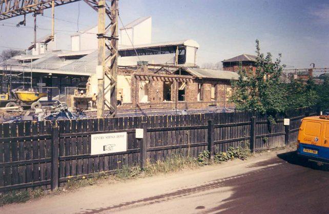 Bletchley Railway Station - demolition