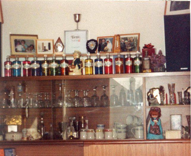 Display cabinet at Eaton Avenue