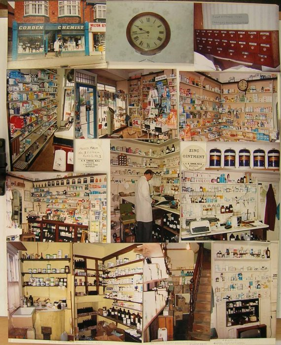 Corden's Chemist Shop Photo Montage