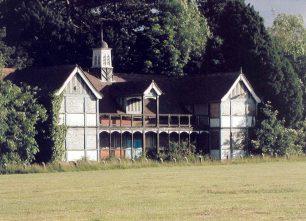 Derelict Pavilion at Bletchley Park