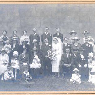 Eileen's mum & dad's wedding