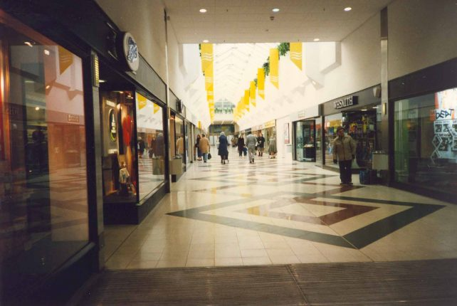 Interior of Brunel Centre, Bletchley