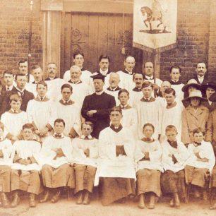 Choir at St Margaret's or St Martin's