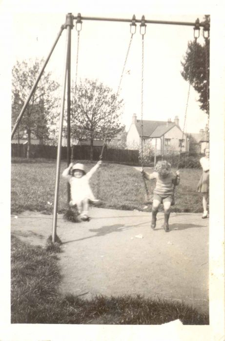 Phyllis and Alan Baker in Leon Rec