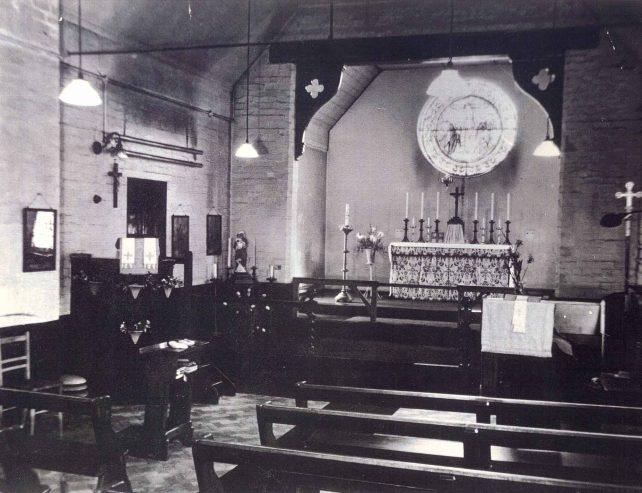 St.  Margaret's Church, Bletchley.  Interior