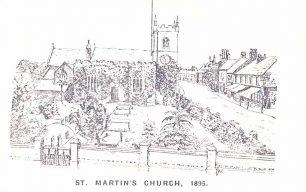 St. Martin's Church - pencil sketch