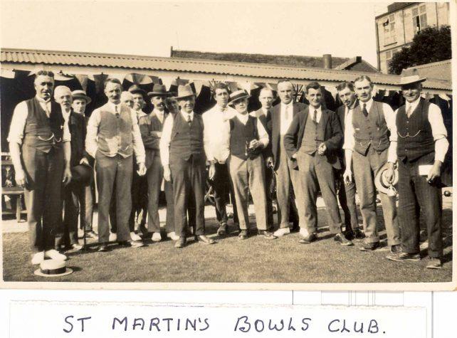 St. Martin's Bowls Club, 1930
