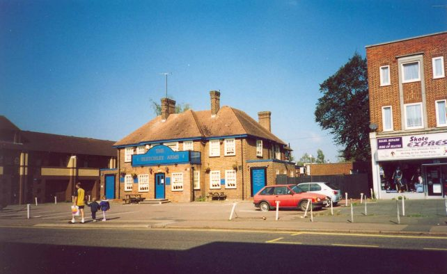Bletchley Arms, upper Queensway