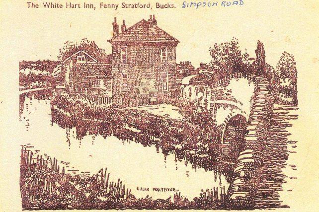 The White Hart Inn, Fenny Stratford