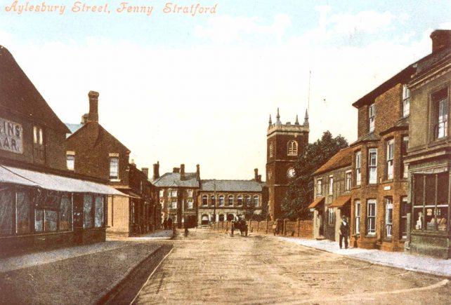 Aylesbury St. Fenny Stratford, looking NE