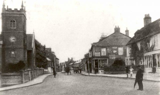 Aylesbury St. Fenny Stratford, looking SW