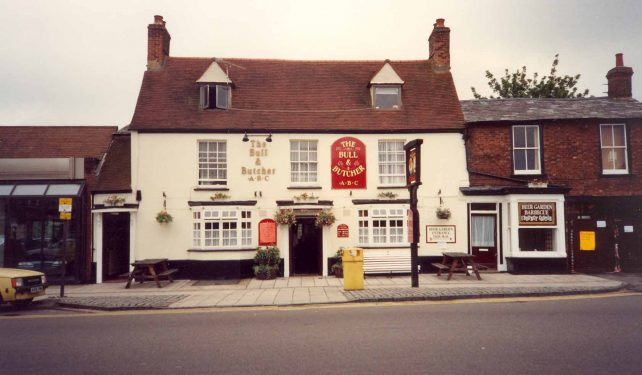 Aylesbury St. Fenny Stratford - The Bull and Butcher pub