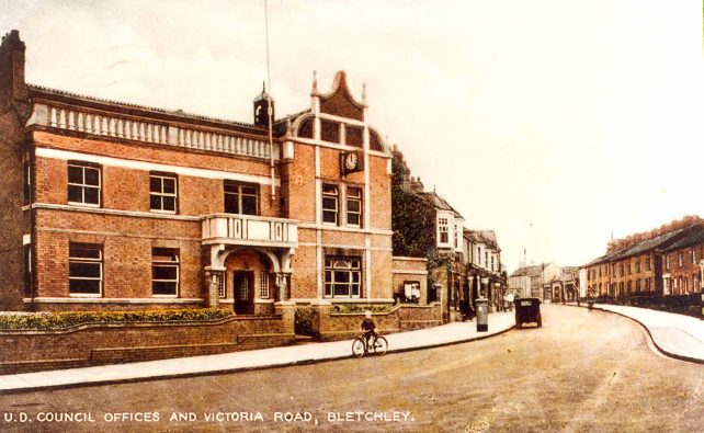 U. D. Council Offices and Victoria Road,  Bletchley
